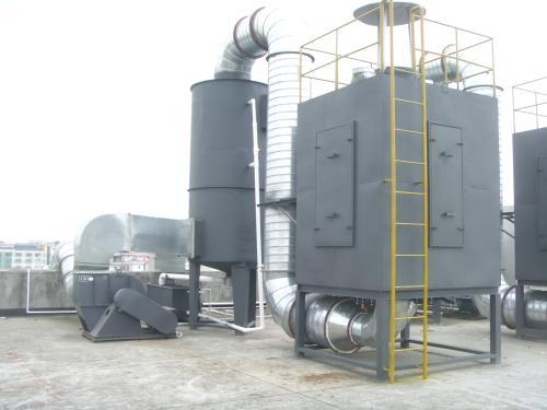 钢结构喷漆废气处理方案