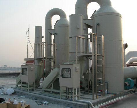 酸碱废气洗涤塔工作原理
