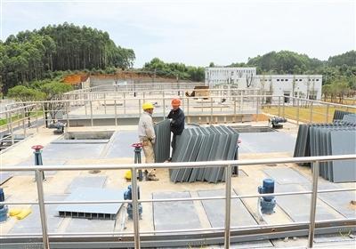 四川夹江开发区污水厂日处理污水5000吨 6月底试运行