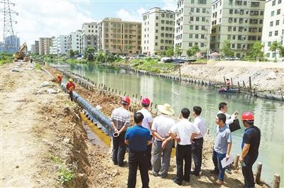 重庆市沙坪坝区4条河流黑臭水体整治工作初见成效