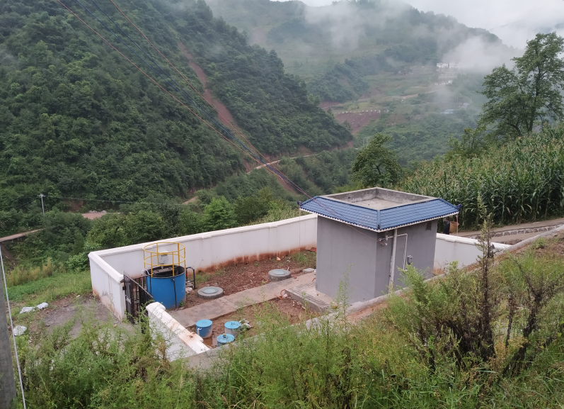 凉山州甘洛县乡村污水处理工程